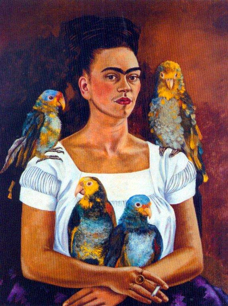 Frida kahlo i used to think bash 39 s road for Diego rivera s most famous mural