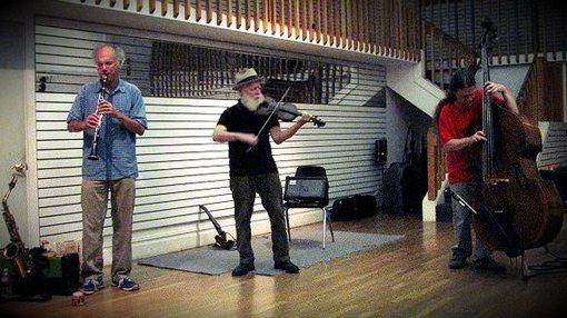 ENVISION ENSEMBLE  w/ Dan Plonsey, Brian Godchaux, Esten Lindgren at Berkeley Arts Festival  August 27, 2014