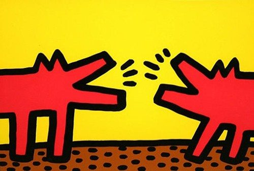 Keith Haring | Barking Dogs