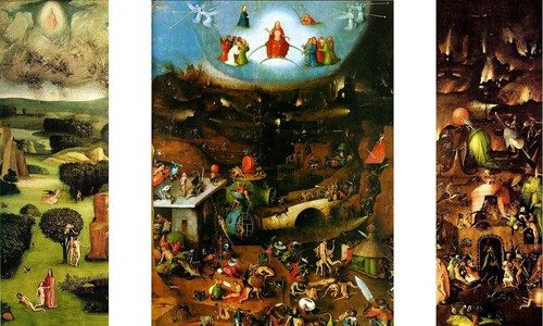 Hieronymus Bosch (circa 1450–1516) | The Last Judgment | click the image to enlarge...