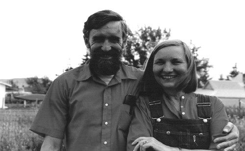 John Bennett & Maia Penfold   Ellensburg, Washington, 1981   Photo by Cindy Krieble