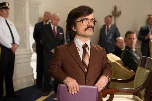 "This image released by 20th Century Fox shows Peter Dinklage in ""X-Men: Days of Future Past."" (AP Photo/20th Century Fox, Alan Markfield)"