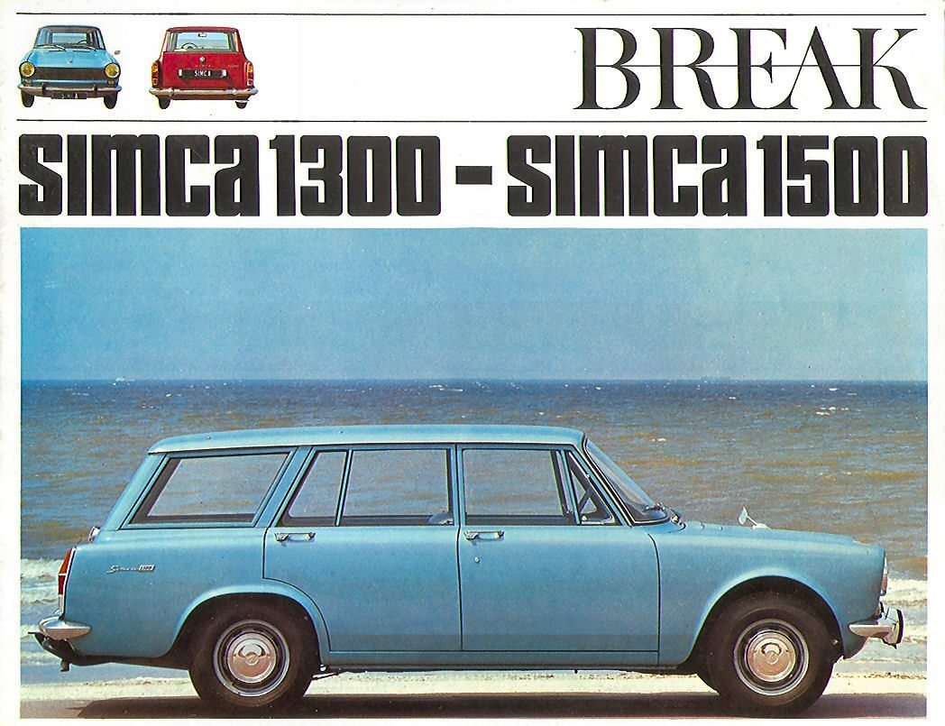 Simca break 1