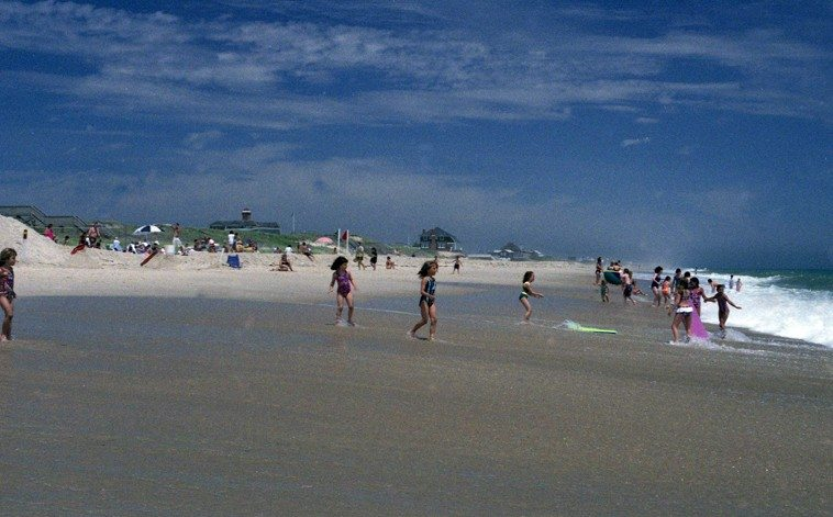 Flying Point Beach, Southampton, Long Island -- June 1995 -- photo by Mark Weber