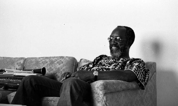 John Carter at home -- 3900 Carol Court, Culver City, California -- August 31, 1976 -- photo by Mark Weber