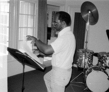 John Carter at Rudolph's Fine Arts Center -- June or July 1975 -- photo by Mark Weber