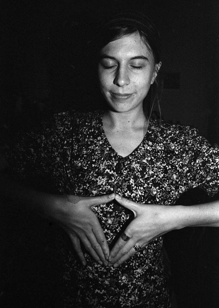 "Anna Diorio ---- November 16, 2o14 -- photo by Mark Weber -- Anna sang a tremendous version of ""Foolin' Myself"" with Nick Lyons, alto; Kazzrie, piano; and Lena Bloch, tenor"