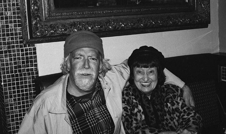 Your host on the Thursday airwaves and SHEILA JORDAN last November in a little restaurant  on 8th Avenue in Chelsea (Manhattan) ---- Improvising as a way of life, that's Sheila, a pure  exposition of joy & happiness, her concerts are something more than merely a performance,  they are an experience of life itself -----  We'll ask her about that and what's her secret for so  much elation, as she'll be visiting us Live in the studio on the Thursday jazz show (March 5) and  that evening in concert duets with the master Cameron Brown, who covers a lot of bases (no pun  intended), when you listen to their records Cameron is on double-duty standing in for an entire  ensemble, that's at the Outpost Performance Space