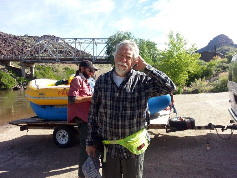 Mark Weber -- Taos, New Mexico -- June 6, 2o15 -- photo by Janet Simon