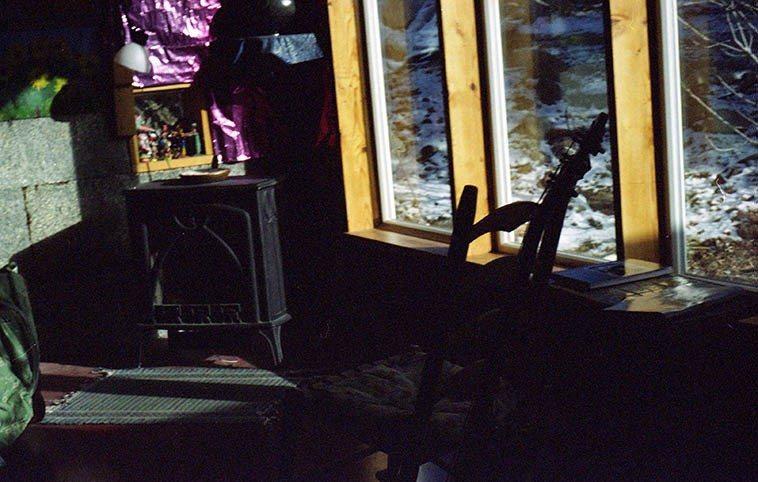 Inside Fiddle Hill, Ken & Jeanie's home in Silver City -- February 5, 2008 -- photo by Mark Weber