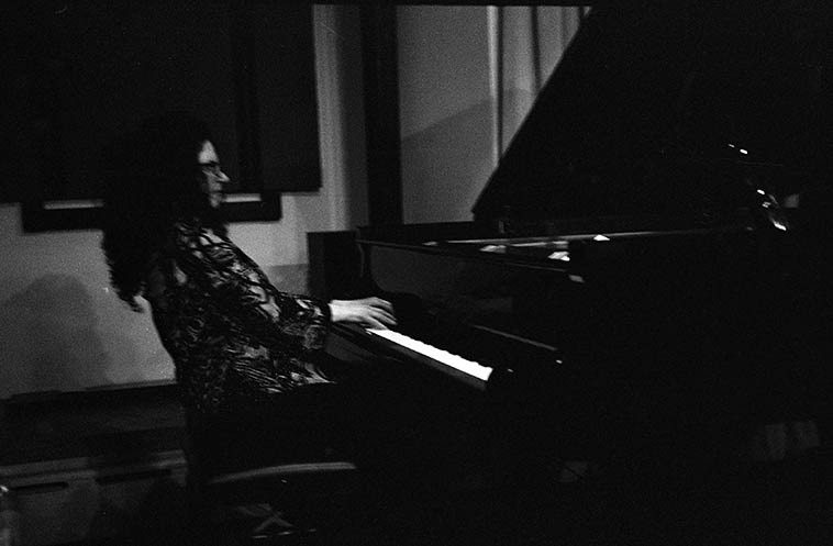 One of my favorite pianists: Carol Liebowitz with the trio + guests -- May 8, 2o15 Brooklyn --  photo by Mark Weber