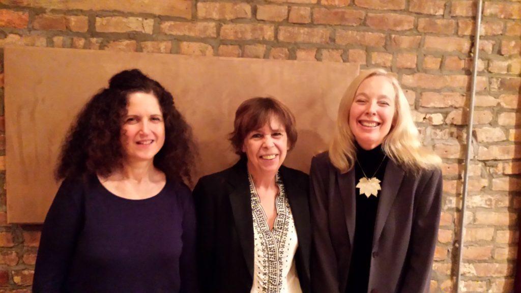 3 pianists: Carol Liebowitz, Virg Dzurinko, Kazzrie Jaxen -- by Maryanne de Prophetis -- December 17, 2015 NYC