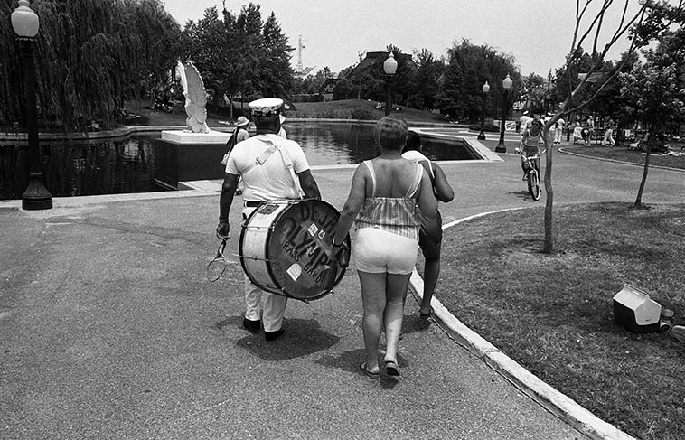 Armstrong Park, New Orleans -- July 4, 1982 -- photo by Mark Weber