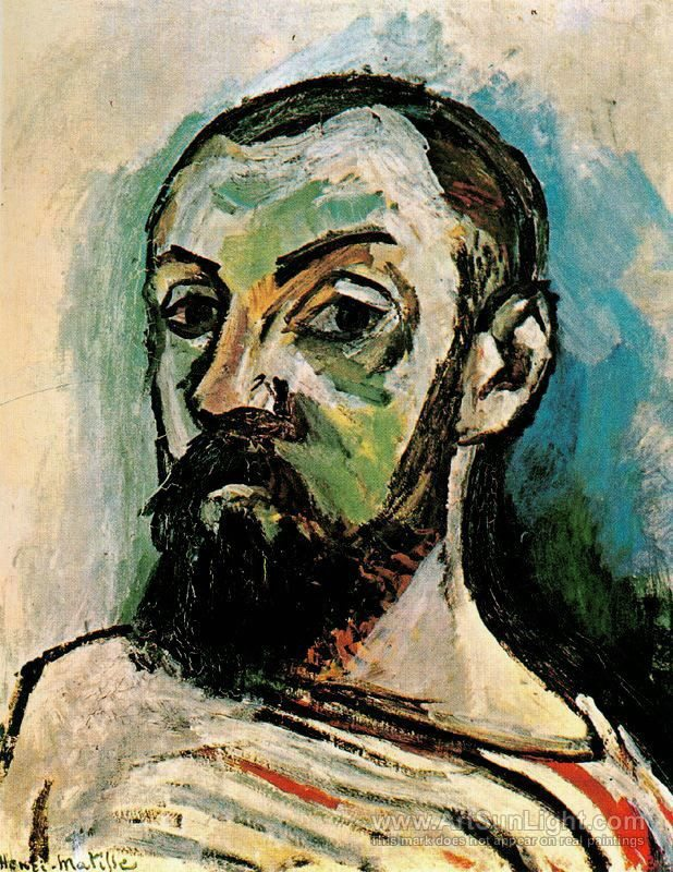 Henri Matisse | Self-Portrait in a Striped T-Shirt | 1906