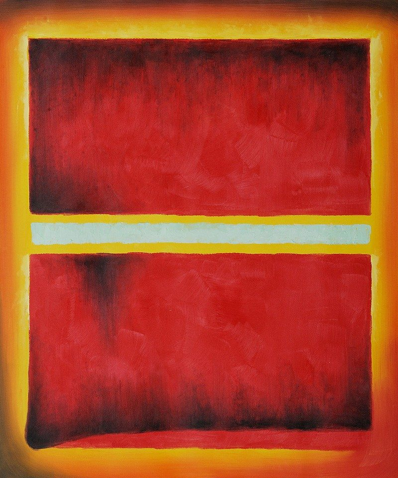 Mark Rothko    Saffron   1957