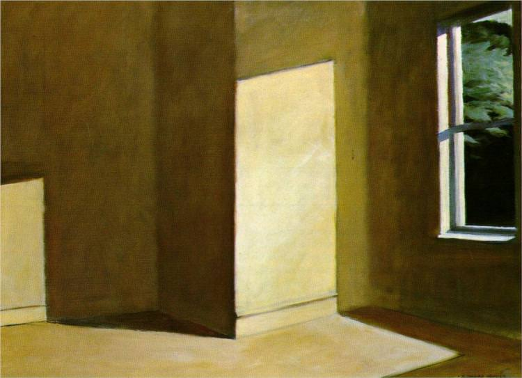 Edward Hopper | Sun in an Empty Room 1963