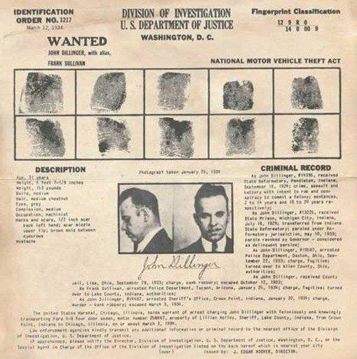 dillingercriminalrecord