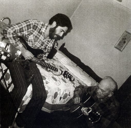 Mark Weber with his Grandfather Harry | 1976