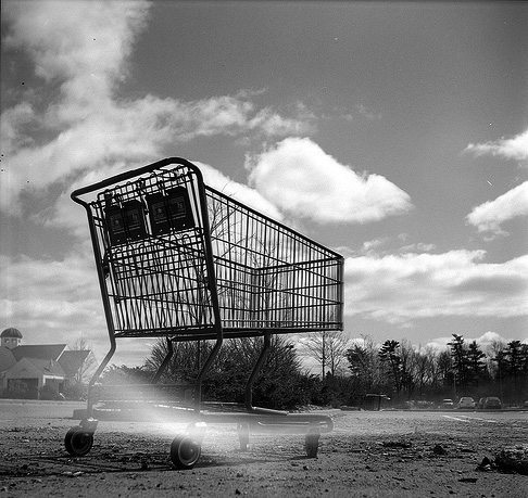 M.etropolis shopping cart.