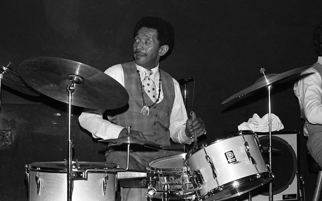 Philly Jo Jones with his Quartet at Donte's, North Hollywood | April 9, 1980 | Photo by Mark Weber